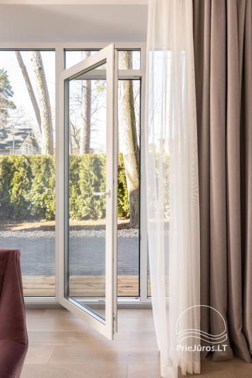 Privačių apartamentų nuoma Jūrmalos centre su 20kv.m terasa, 300m iki jūros - 13