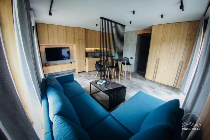 Jūros 40 - apartamentų nuoma Šventojoje