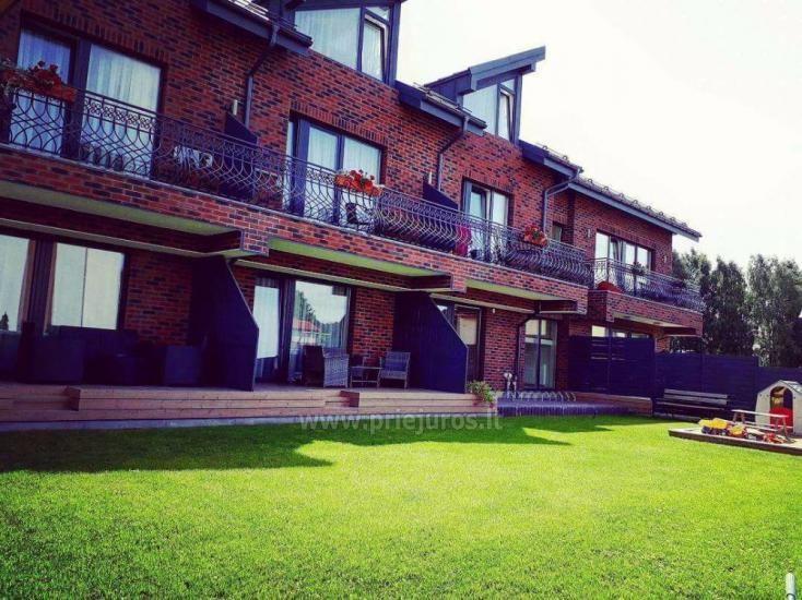 Vila Sonata - apartamentai Jūsų šeimos poilsiui Palangoje!