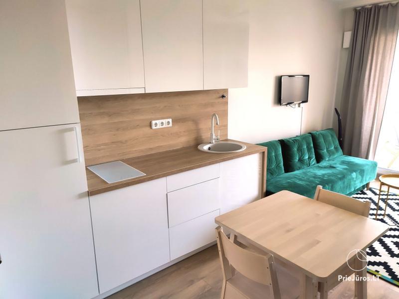 Malūno Vilos 1 kambario apartamentai su baseinu P.Nr.12