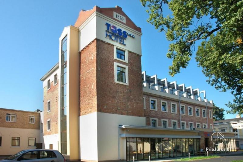 Viešbutis TOSS Hotel - apartamentų nuoma, spa zona
