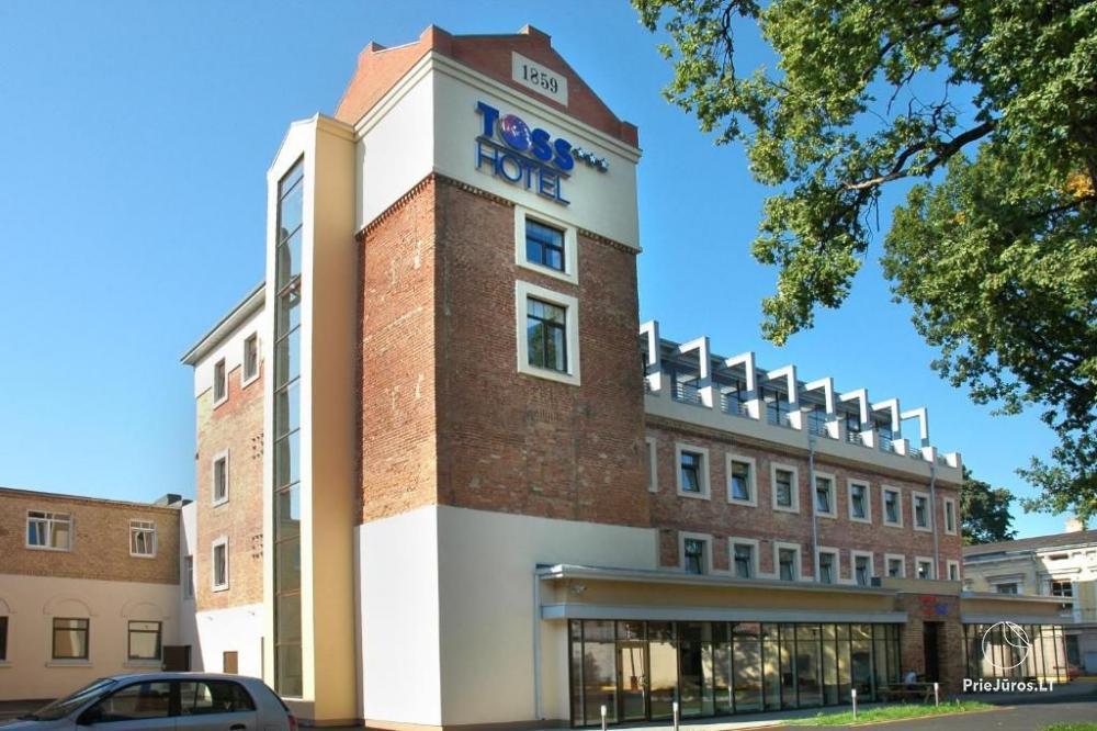 Viešbutis TOSS Hotel - apartamentų nuoma, spa zona - 1