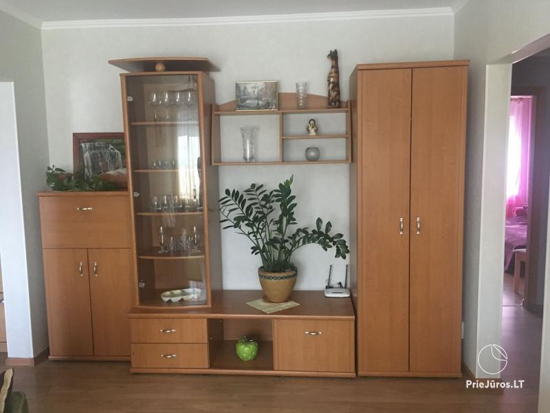 Dviejų kambarių apartamentų nuoma Venspilyje