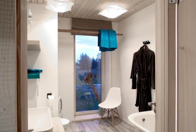 Sīpoli DESIGN - išskirtinio dizaino poilsio namelis prie jūros - 12