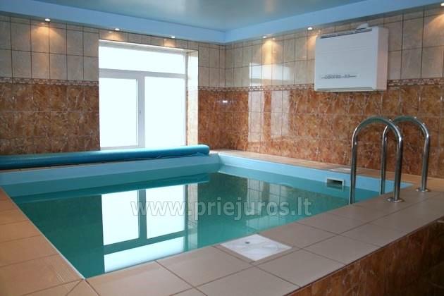"""""""Zivtiņi"""" svečių namai: švęsk ir ilsėkis pajūryje! Yra pirtis, baseinas. - 12"""