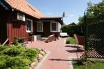 Two rooms apartment in the center of Nida with private garden