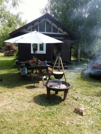 Kempingas Kalēji: vietos kemperiams, palapinėms, namelių nuoma Liepojoje - 12