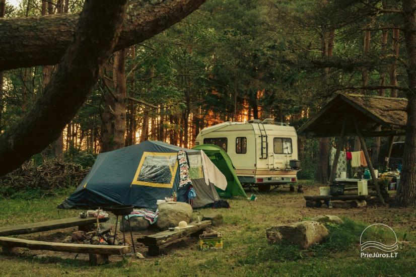 """Camping """"Kalēji"""" - domy kempingowe, namioty i przyczepy kempingowe nad morzem - 27"""