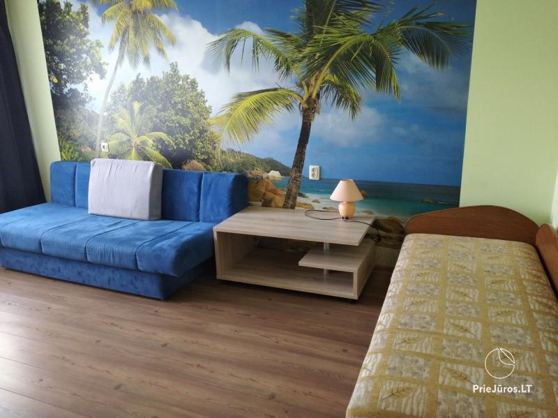 Apartment rent in Ventspils near the sea