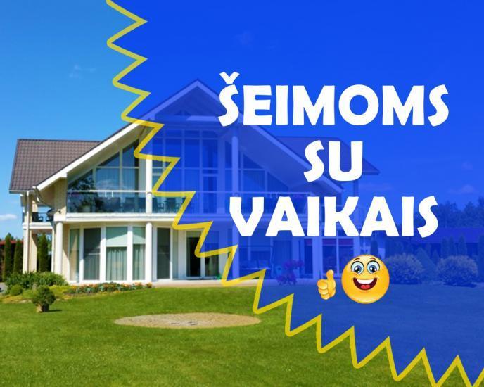 """""""Saulės vila"""" Kunigiškiuose – Palangoje. Geriausias poilsis šeimoms su vaikais bei šventės!"""