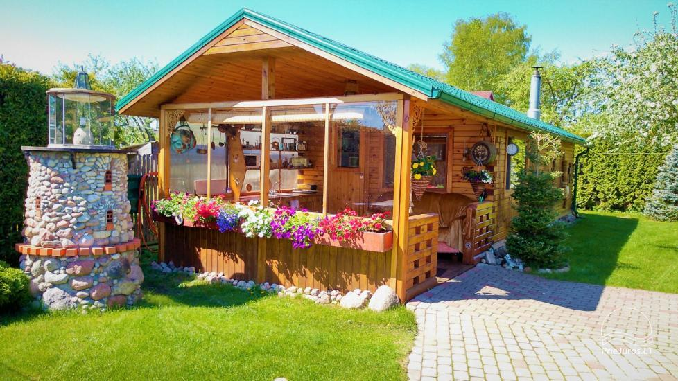 Holiday cottage rent in Jurmala Melon House - 1