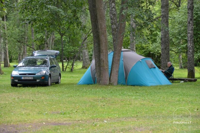 Camping in Jurmala. To the sea - 200 m. - 15