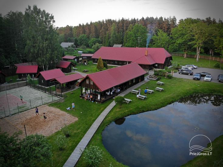 Guest House Vecmuiža in Latvia: small houses, rooms, sauna, banquet hall - 3