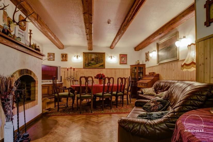 Guest House Vecmuiža in Latvia: small houses, rooms, sauna, banquet hall - 9