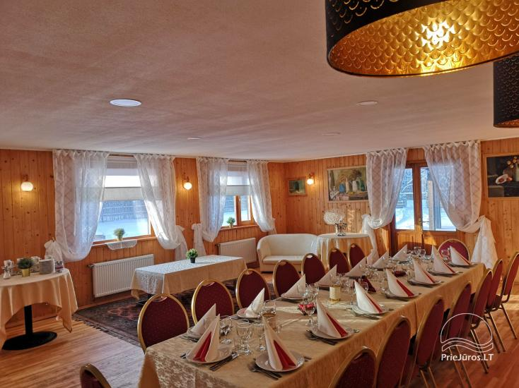 Guest House Vecmuiža in Latvia: small houses, rooms, sauna, banquet hall - 11
