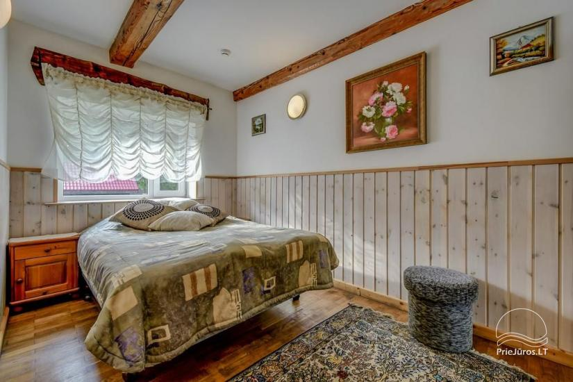 Guest House Vecmuiža in Latvia: small houses, rooms, sauna, banquet hall - 10