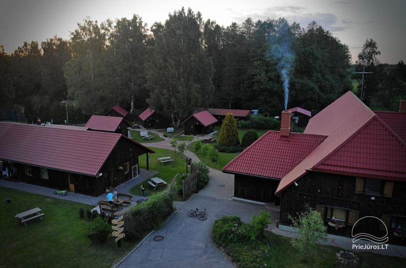 Guest House Vecmuiža in Latvia: small houses, rooms, sauna, banquet hall - 4
