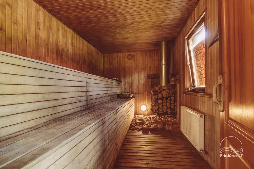 Svečių namai Vecmuiža Latvijoje: nameliai, kambariai, pirtys, kubilas - 28