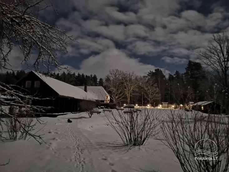 Svečių namai Vecmuiža Latvijoje: nameliai, kambariai, pirtys, kubilas - 30