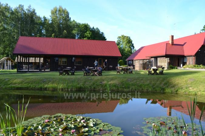 Guest House Vecmuiža in Latvia: small houses, rooms, sauna, banquet hall - 2