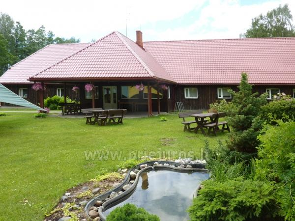 Guest House Vecmuiža in Latvia: small houses, rooms, sauna, banquet hall - 5