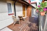 1 kambario butas Palangoje su atskiru įėjimu iš kiemo ir terasa, netoli Botanikos parko