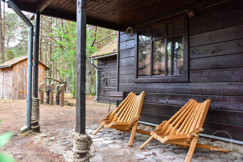6 vietų namelis su pirtimi ir mini baseinu