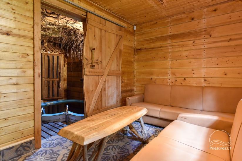 6-vietīga māja ar saunu un mini baseinu