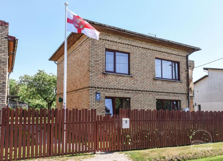 A part of the house for rent in Ventspils Kakisi - 1
