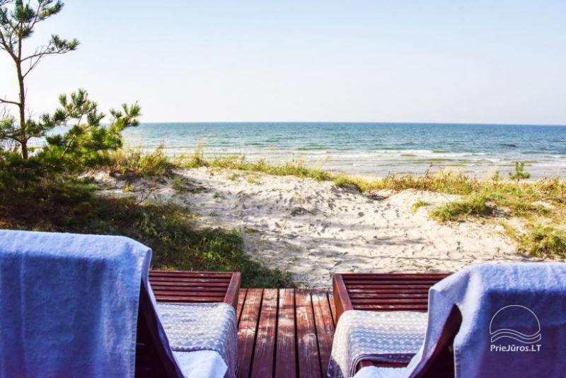 Vila ant jūros kranto D&A Baltic Beach Villa