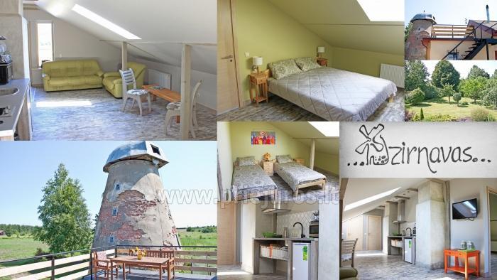 Apartments Dzirnavas in Ventspils area