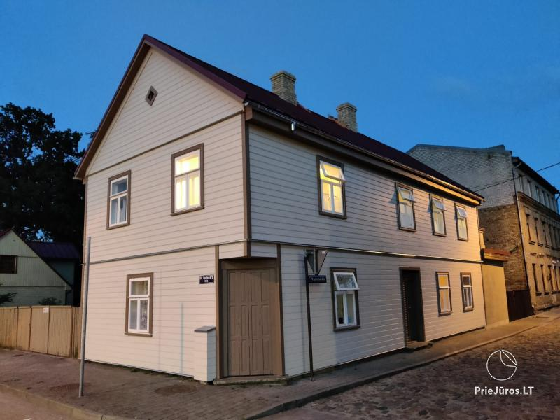 Holiday house for rent in Ventspils with terrace, 400m from the sea!