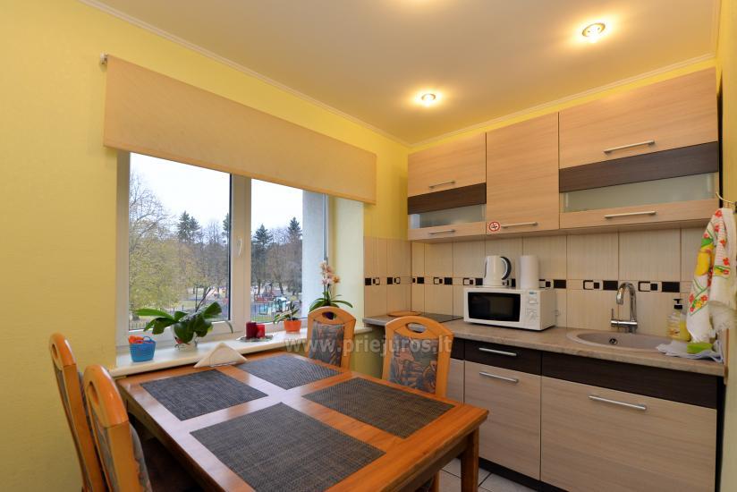 2 kambarių apartamentai Ventspilio centre prie pat vaikų miestelio - 8
