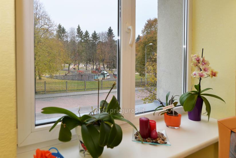 2 kambarių apartamentai Ventspilio centre prie pat vaikų miestelio - 7