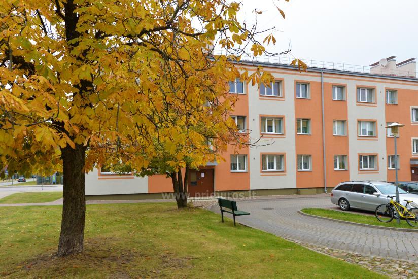 2 kambarių apartamentai Ventspilio centre prie pat vaikų miestelio - 1