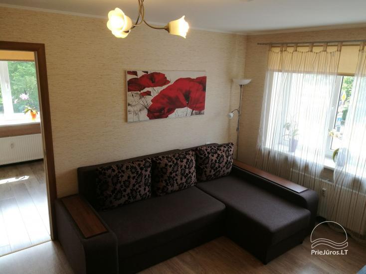 2 kambarių apartamentai Ventspilio centre prie pat vaikų miestelio - 10