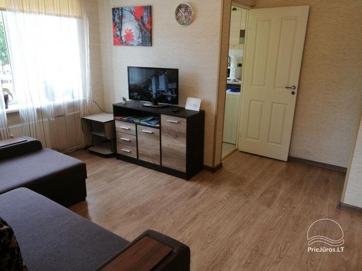 2 kambarių apartamentai Ventspilio centre prie pat vaikų miestelio - 11
