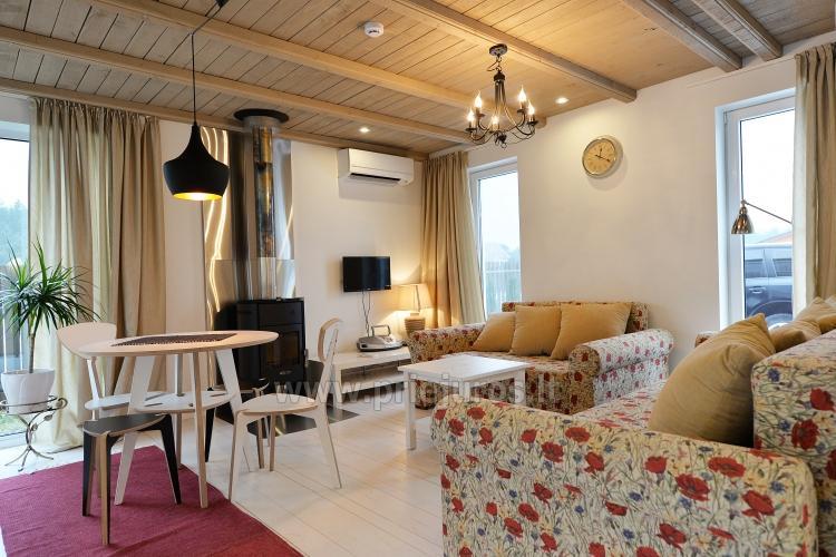 Namelio nuoma prie pat jūros! 3 kambariai, 6 miegamos vietos