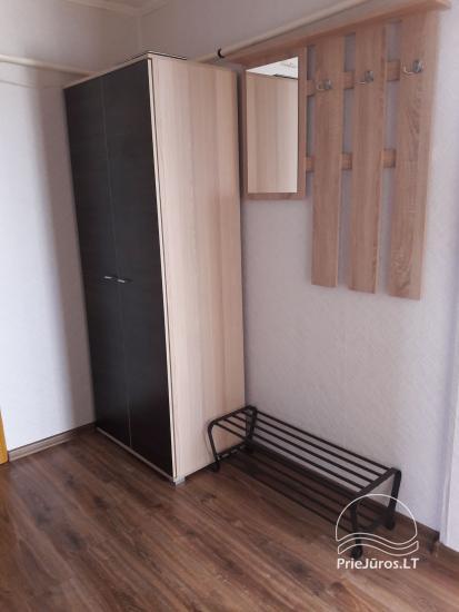 Erdvus ir jaukus dviejų kambarių butas Ventspilio centre - 5