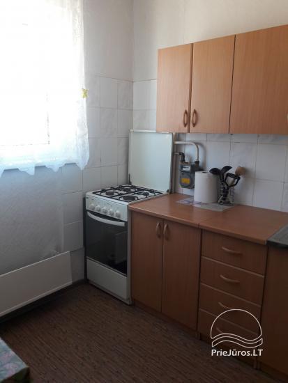 Erdvus ir jaukus dviejų kambarių butas Ventspilio centre - 6