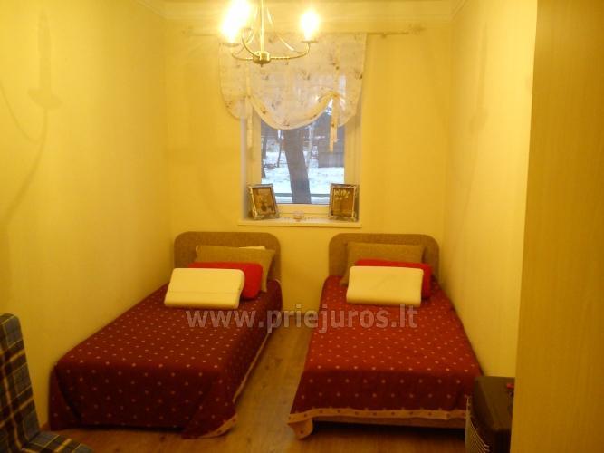 Trijų kambarių butas Liepojoje (350 m iki jūros) - 2