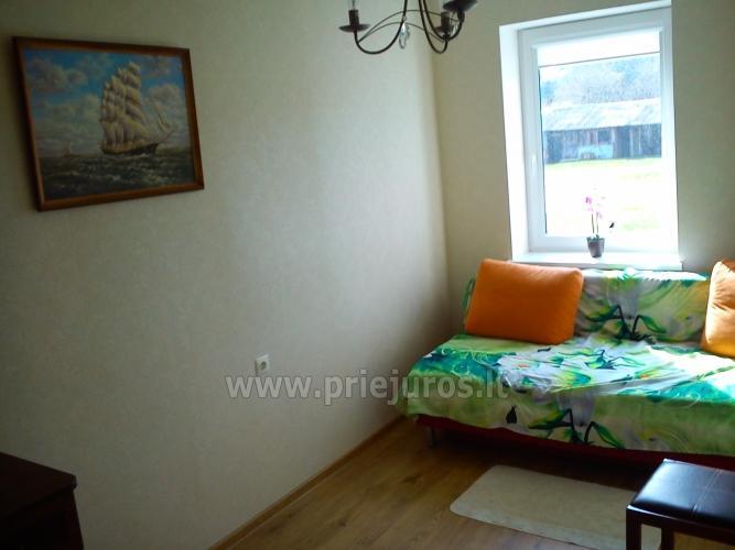 Trijų kambarių butas Liepojoje (350 m iki jūros) - 6