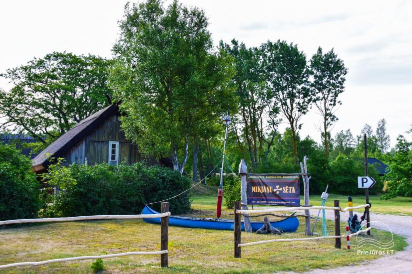 """Place for vacation 100 m to the dunes """"MIKJĀŅU SĒTA"""": holiday cottages, campping - 1"""
