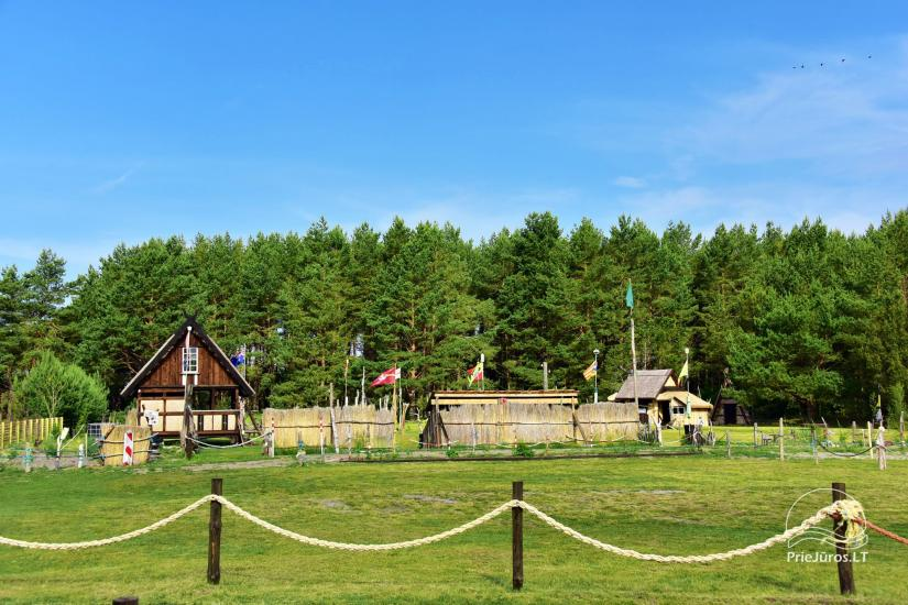 """Place for vacation 100 m to the dunes """"MIKJĀŅU SĒTA"""": holiday cottages, campping - 6"""