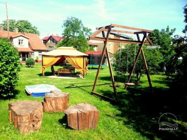 1-3 Zimmer Ferienwohnungen in der Nähe des Meeres im Zentrum von Ventspils