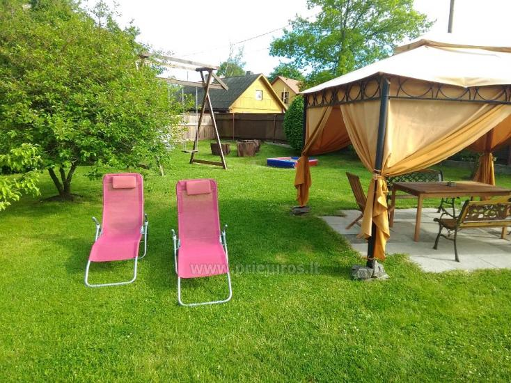 1-3 kamb. komfortabilūs apartamentai su didele privačia teritorija netoli jūros Ventspilyje - 16