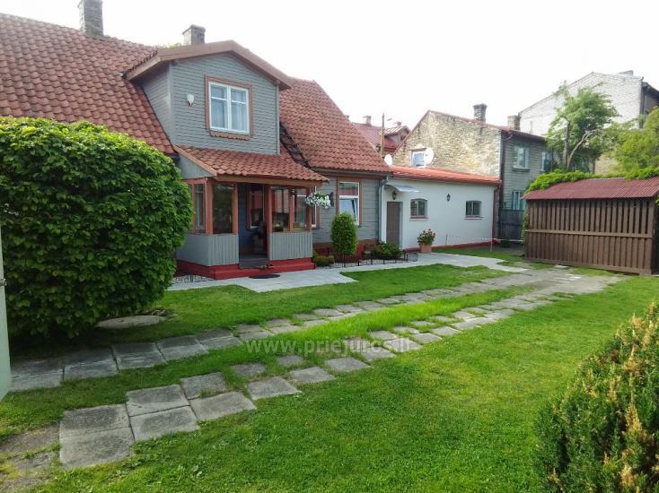 1-3 kamb. komfortabilūs apartamentai su didele privačia teritorija netoli jūros Ventspilyje - 19