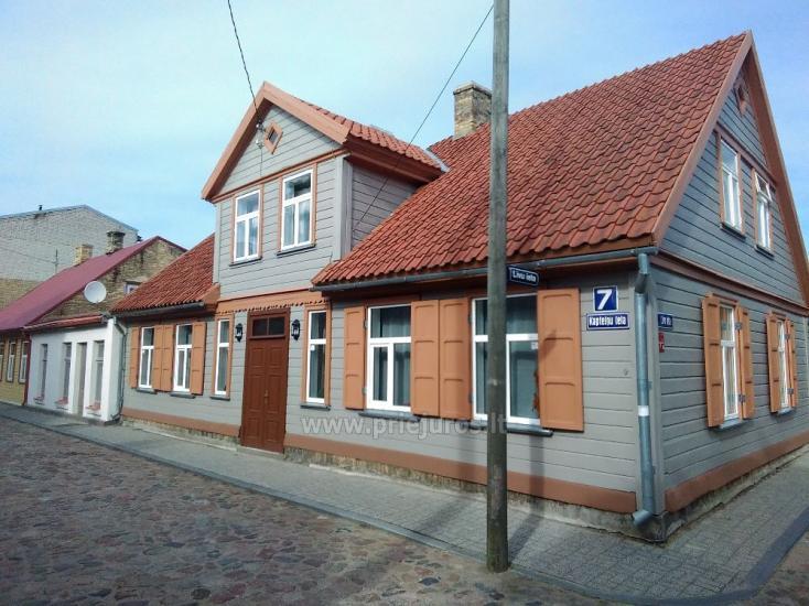 1-3 kamb. komfortabilūs apartamentai su didele privačia teritorija netoli jūros Ventspilyje - 22