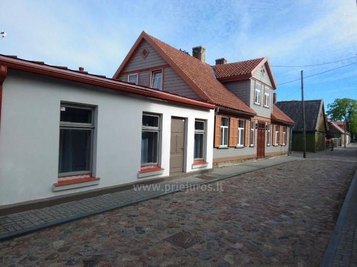 1-3 kamb. komfortabilūs apartamentai su didele privačia teritorija netoli jūros Ventspilyje - 23