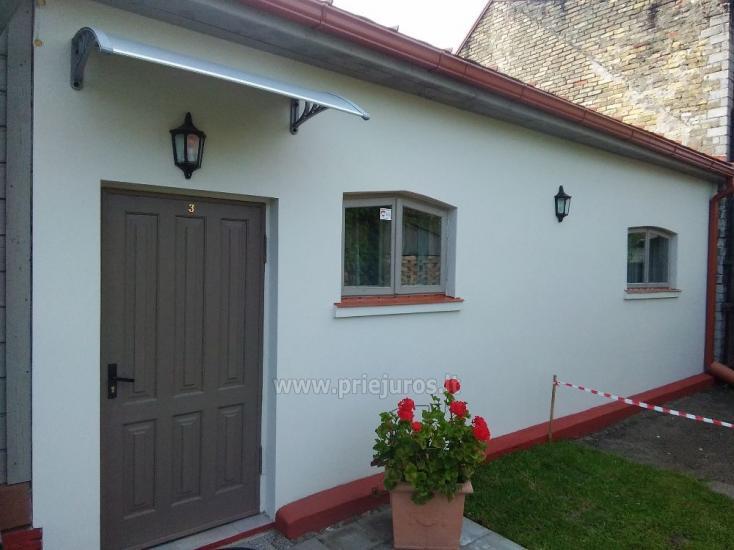 1-3 kamb. komfortabilūs apartamentai su didele privačia teritorija netoli jūros Ventspilyje - 24